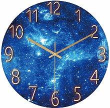 Mogzank Modern Large Size Wall Clock,Silent Non
