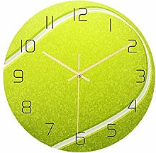 Mogzank Tennis Acrylic Silent Wall Clock Bedroom