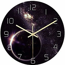 Mogzank Universe Acrylic Silent Wall Clock Bedroom