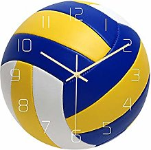 Mogzank Volleyball Acrylic Silent Wall Clock