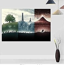 mohanshop Frameless Painting The Lord Of The Rings