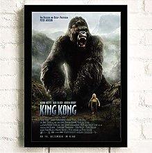 mohanshop Print On Canvas King Kong Skull Island