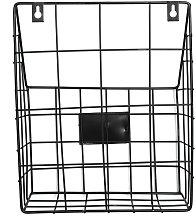 Mohoo Modern Wire Magazine Newspaper Basket Mail
