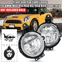 Mohoo - Pair Front Spot Fog Light Lamps For BMW