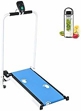MOKY Mechanical Foldable Treadmill, LCD Screen