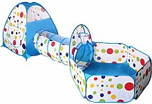MOKY Pop up Kids Play Tent with Tunnel and Ball