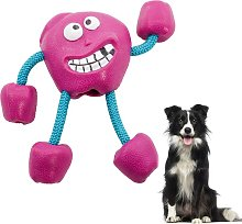 Molar toys for pets, rubber ball toys, molar with