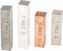 Mole Set - Copper, Iron, Zinc, Aluminium - Rapid