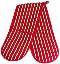 Molly Malou Double Oven Gloves Butcher Stripe