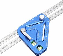 MOMIN Aluminum Alloy Triangle Ruler Anti-corrosion