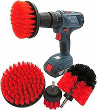 MOMIN Drill Powered Cleaning Brushes 4 Pcs Drill