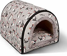 MOMIN Pet House Dog Bed Creative Cartoon Removable