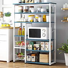 MOMIN Standing Shelf Units Frame 6-Tier Utility