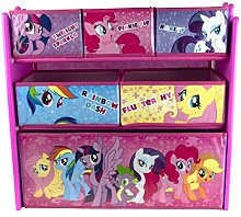 Mon Petit Poney 42205-S Storage Cabinet Pink