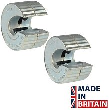 MON1722 1722Y Autocut Copper Pipe Cutter Twin Pack