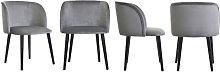 Mona Upholstered Dining Chair BelleFierté