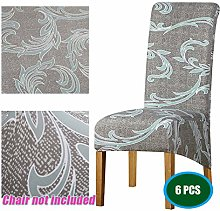 Monba Stretchable Dining High Back Chair Slipcover