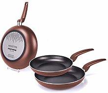 Moneta Stratomax 20 + 24 + 28 Pan Set Copper 28 cm