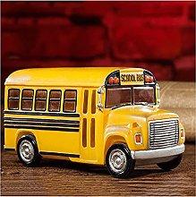 Money Boxes School Bus Piggy Bank Vintage Old