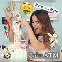 Money Cake Dispenser Box, Cake Money Pull Out Kit,