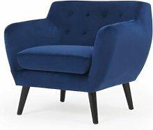 Monica Armchair August Grove Upholstery Colour: