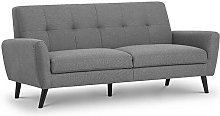 Monica Compact Retro 3 Seater Sofa