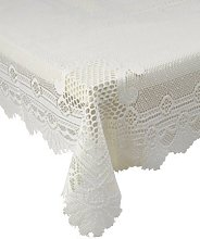 Monica Lace Tablecloth Traditional Rose Pattern