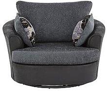 Monico Fabric Swivel Chair