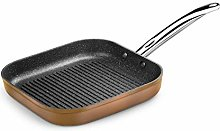 Monix Copper-Grill with Stripes 28 x 28 cm, Forged