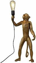 Monkey Lamp Pendant Light Lamp Shade Cable Resin