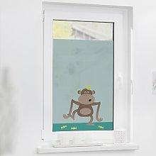 Monkey Window Sticker East Urban Home