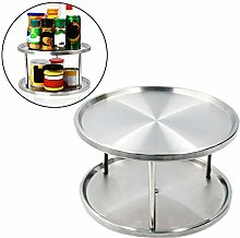 Monkys Spice Rack 2 Tier Kitchen Counter-top 360°