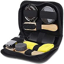 Monland Portable Shoe Care Kit (Black & Neutral