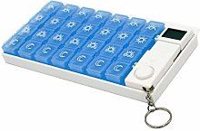 Monllack 7 Days 28 Grid Kit Reminder Electronic