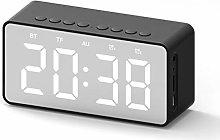 Monllack Bt506 LED Alarm Clock Wireless Speaker