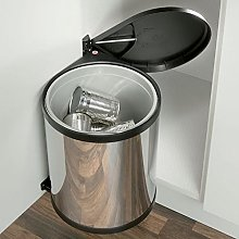Mono waste bin, 15 litres kitchen swing out and