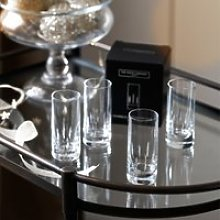 Monroe Shot Glass - Set Of 4, Clear, One Size