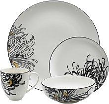 Monsoon Chrysanthemum 16 Piece Tableware Set
