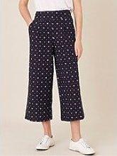 Monsoon Dolly Linen Printed Trouser