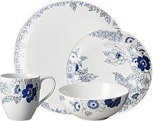 Monsoon Fleur 16Pc Tableware Set