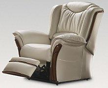 Montana Electric Reclining Armchair Sofa Genuine