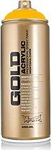 Montana-GOLD : 400ml Acrylic Spray Paint Can -