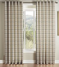 Montgomery Kirkwall Natural Lined Rme Curtain 117