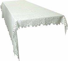 mookaitedecor Beige Large Tablecloth