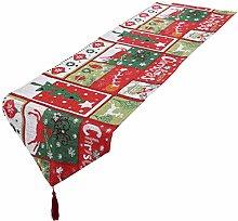 mookaitedecor Christmas Table Runner Assorted