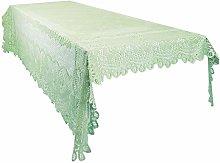 mookaitedecor Green Large Tablecloth