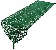 mookaitedecor lace table runners, lace embroidery