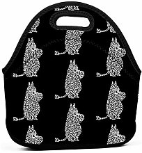 Moomin Work Picnic School Insulated Lunch Bag Tote