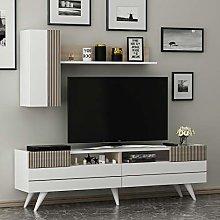 MOON Wall Unit -TV Lowboard – Living room TV Set