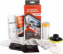 Moonvvin Headlight Restorer Kit Headlight Cleaning